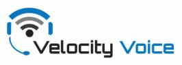 VELOCITY VOICE Logo
